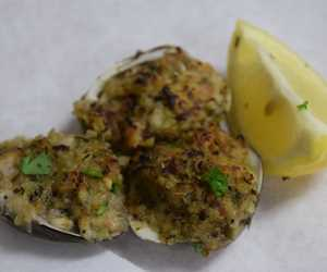 Clams Oreganato
